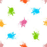 Spray paint  watercolor seamless pattern. Copy square to the side and you'll get seamlessly tiling pattern which gives the resulting image ability to be Stock Photos