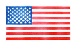 Spray painted American flag background. Spray painted USA American flag background Stock Photography