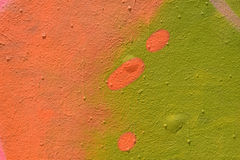 Spray painted wall texture Royalty Free Stock Image