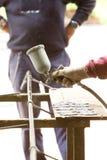 Spray painter Stock Photo