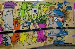 Spray Painting - fantasy, abstract Stock Photo