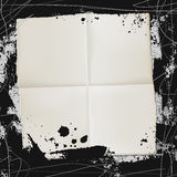 Spray paper Stock Image