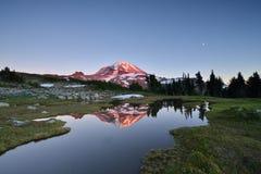Spray Park, Mt. Rainier National Park royalty free stock photo