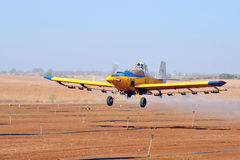 Spray Plane Royalty Free Stock Photography
