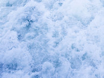 Spray of sea foam Royalty Free Stock Images