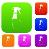 Spray set collection Royalty Free Stock Photography