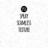 Spray, splash texture seamless vector pattern. Tiny uneven ink spots, dots, specks, flecks, flakes. Simple white, light background. Grunge monochrome template Stock Photos