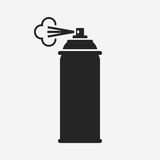 Spray. Vector icon isolated on grey background stock illustration