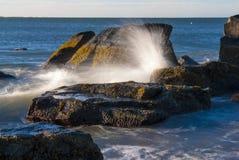 Spray von der Welle Lizenzfreies Stockfoto