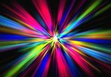 Spray von Farben Lizenzfreie Stockfotos