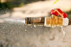 Spray water Stock Image