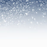 Spray water and drops Royalty Free Stock Photo