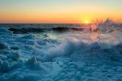 Spray winter. Stock Image