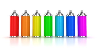 Spraycan Royalty Free Stock Photography