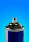 Spraycan with path Stock Photography