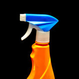 Sprayer on a black background. Royalty Free Stock Photos