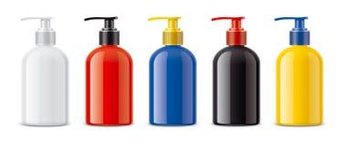 Sprayer bottles royalty free stock photography