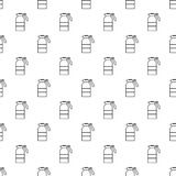 Sprayer container pattern vector seamless. Repeating for any web design Stock Image