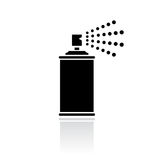 Sprayer vector icon Stock Images