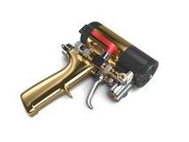 Sprayfoam vapen Arkivbilder