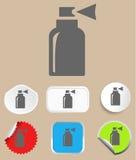 Sprayikone - Vektorillustration Stockfoto