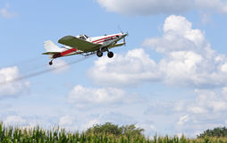 Spraying Corn Crop stock photos