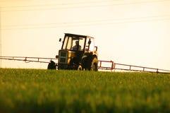 Spraying the Crop Royalty Free Stock Image