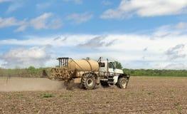 Spraying Farm Field Stock Photos