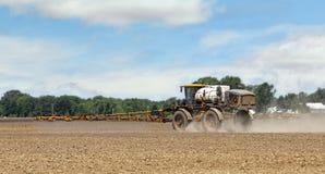 Spraying Herbicides Royalty Free Stock Images