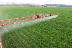 Spraying Stock Image