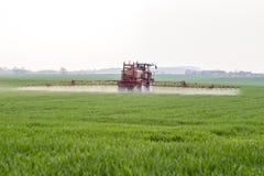 Spraying machine Stock Image