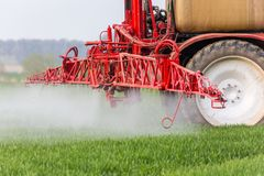 Spraying machine Stock Images