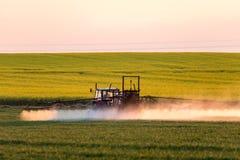 Spraying machine Stock Photography