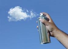 Spraying the sky royalty free stock photo