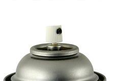 Spraylack kann mit einer Düse versehen Stockfotografie