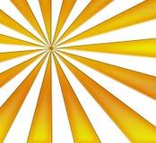 Sprazzo di sole giallo Immagine Stock Libera da Diritti