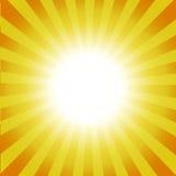 Sprazzo di sole luminoso illustrazione di stock