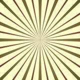 Sprazzo di sole variopinto, retro illustrazione di stile immagini stock libere da diritti