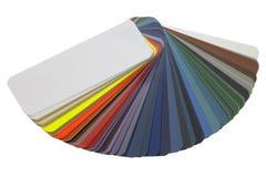 Spread color chart Stock Photos