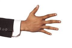 Spread fingers Stock Images