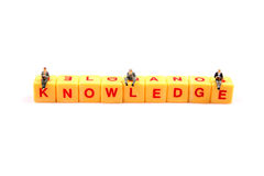 Spread knowledge Royalty Free Stock Photography