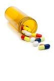 Spread medicine Stock Image
