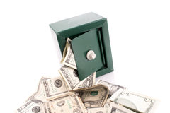 Spread money Royalty Free Stock Image
