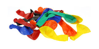 Spread Out Batch Party Baloons Royalty Free Stock Images