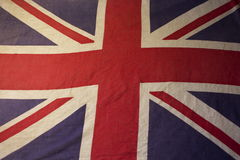 Spread out union jack Royalty Free Stock Photos