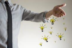 Spreading ideas concept Stock Image