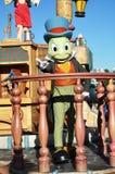 Sprechengrille in der Disney-Parade Stockfotos