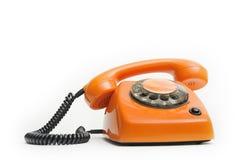 Sprecher kommt vom Telefon Lizenzfreie Stockfotos