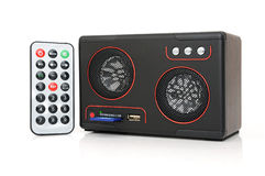 Sprecher mit Karteleser und USB Stockfotografie