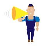Sprecherarbeitskraft Stockfotos